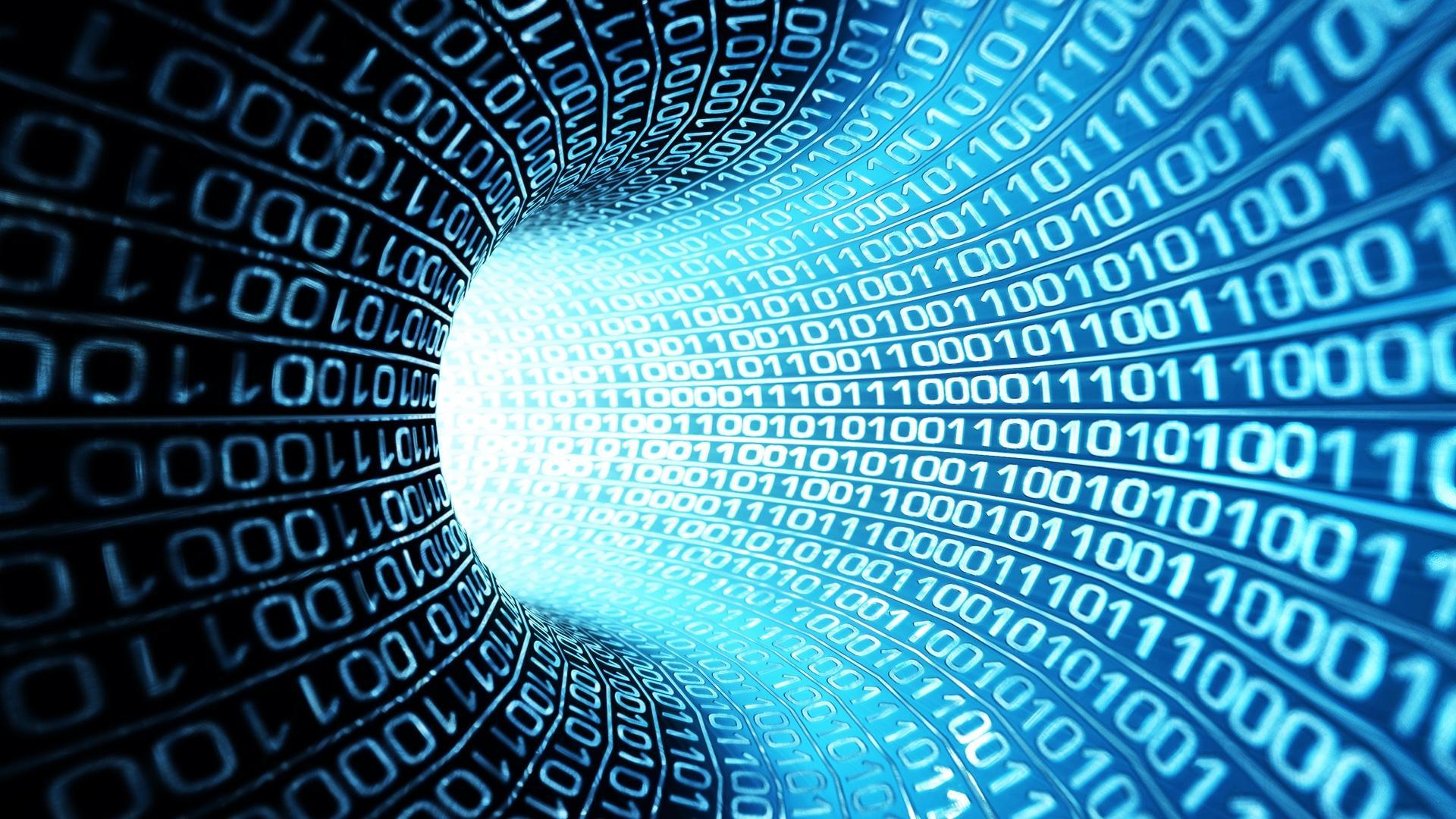 Binary Number Tunnel 1080p Hd Wallpaper Perustat Analytics